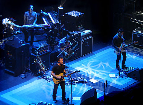 Pop/Light Rock Band O.A.R. at Club Nokia
