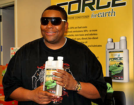 Kenan Thompson of Saturday Night Live and Force for Earth