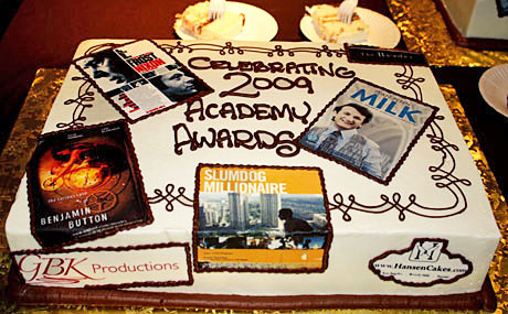 Academy Award's Cake by Hansen Cakes
