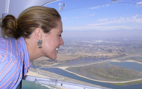 The Zeppelin Eureka Airship ride will leave your family smiling.