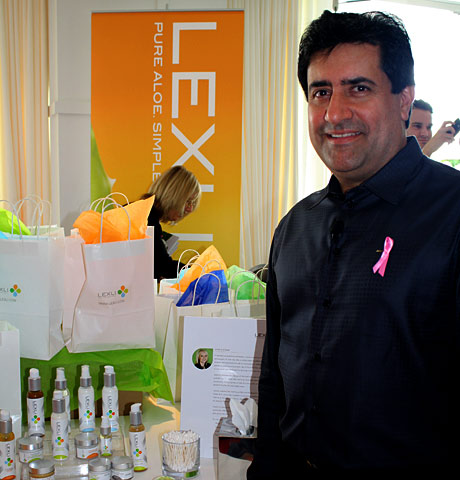 Founder Dr. Ahmed Abdullah and his revolutionary aloe based skin care line Lexli.