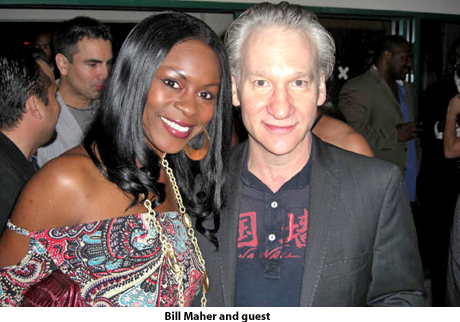 bill maher with black woman