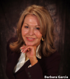 Psychic and author Barbara Garcia