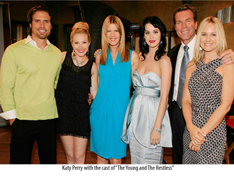 Katy Perry Young and the Restless