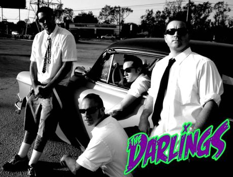 'The Darlings' Buddy Harris (vocals and guitar), Josh Kearney (guitar), Chris Kranes (bass) and Shaun Singer (drums).