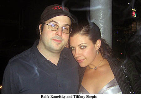 Rolfe Kanefsky and Tiffany Shepis