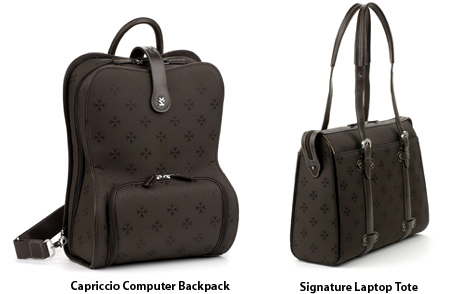 Moonsus Capriccio Backpack and Laptop Tote