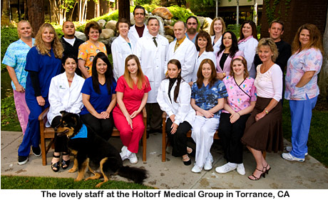 The staff at the Holtorf Medical Group