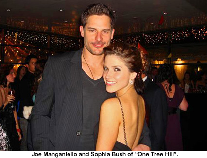 Joe Manganiello, Sophia Bush