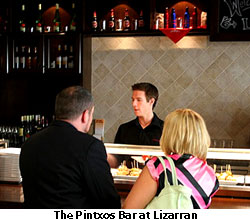 Pintxos Bar at Lizarran