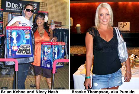 Brian Kehoe, Niecy Nash, Brooke Thompson Dance Dance Revolution was also ...