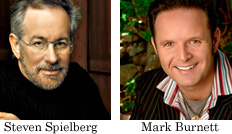 Steven Spielberg, Mark Burnett