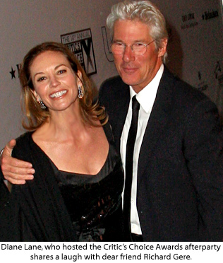 Diane Lane | Getty Images |Franco And Diane Lane Richard Gere