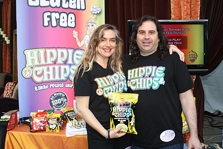 HippieChips CEO Dan Ehrlich and his wife.