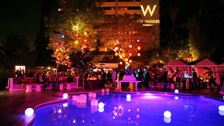los angeles westwood hotel and american cancer society escape to