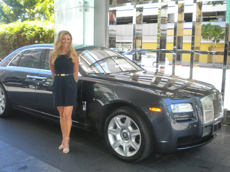 Rolls Royce Displays The Goods At The Aesthetic Everything Rolls Royce Red Carpet Gifting Lounge For The Espy Awards La S The Place Los Angeles Magazine