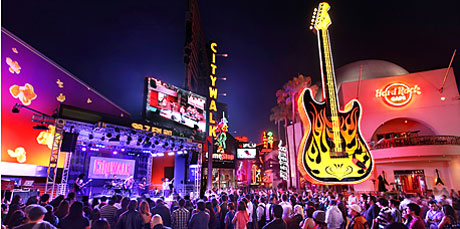 Universal CityWalk Plugged In Stage