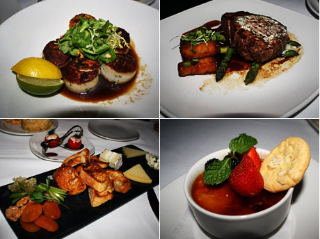 A sampling of some of Baleen's incredibly delicious cuisine.