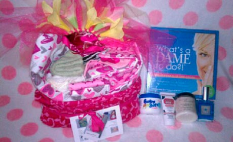 WOW! Creations Baby Swag Bag for Jessica Simpson and New Baby Girl