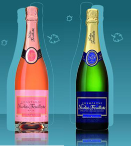 Nicolas Feuillate Rose and Brut