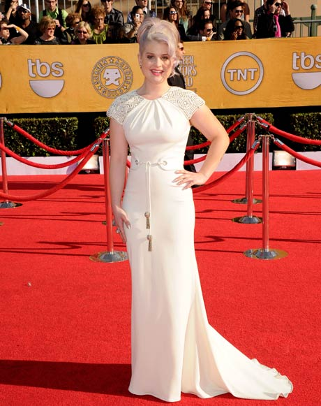 Kelly Osbourne in a Palladium Jewelry by Dena Kemp Bubble Ring