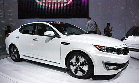 Kia Optima Hybrid - Look out world!