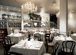 Bistro Bagatelle on La Cienega in West Hollywood