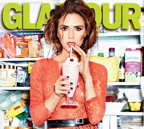 Glamour September Issue - Victoria Beckham
