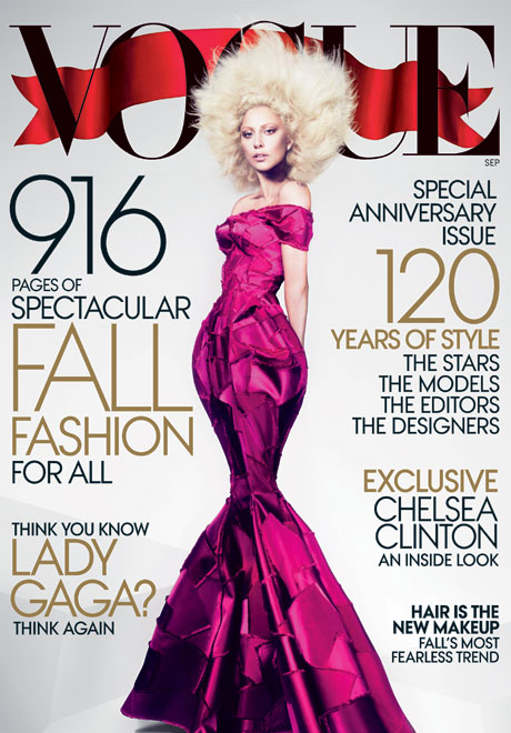 September Cover of Vogue 2012