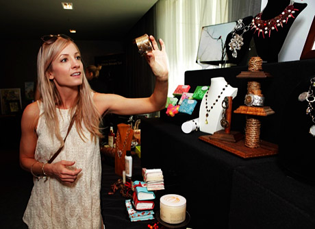 Joanne Froggatt smoking a cigarette (or weed)