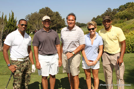Duane Martin, Jim Plunkett and guests..