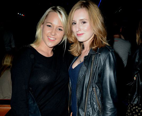British actress Laura Carmichael (right)