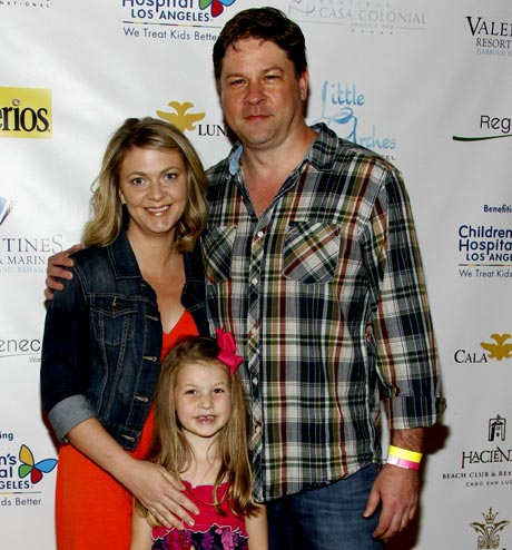 Actor Lex Medlin and Family (Happy Hour, Drop Dead Diva)