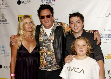 Michael Madsen and family attend Secret Room pre Emmy gift lounge