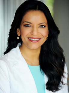 Dr. Anita Patel, board-certified plastic surgeon with Rox Center of Beverly HIlls, CA