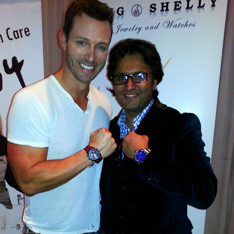 Days of Our Lives  Eric Martsolf with Craig of Craig and Shellys Fine Jewelry
