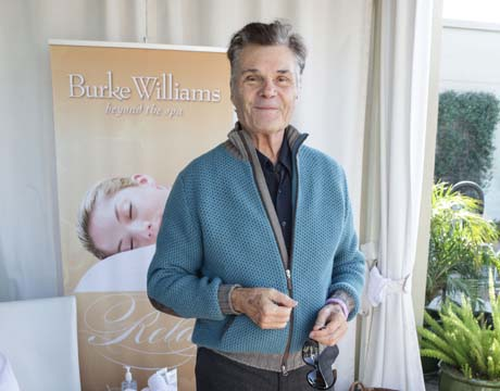 Fred Willard with Burke Williams Spa