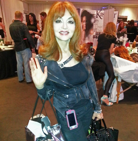"Comedian Judy Tenuta, the ""Goddess of Comedy"""
