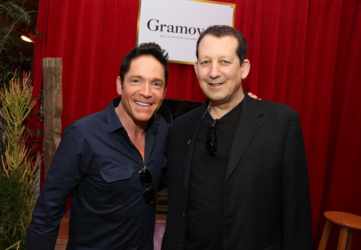 Musicans Dave Koz and Jeff Lorber -  Photo by Imeh Akpanudosen WireImage