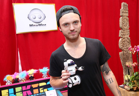 Singer Alex DeLeon of The Cab attends the GRAMMY Gift Lounge during the 56th Grammy Awards at Staples Center on January 24, 2014 in Los Angeles, California. (Photo by Imeh Akpanudosen/WireImage)