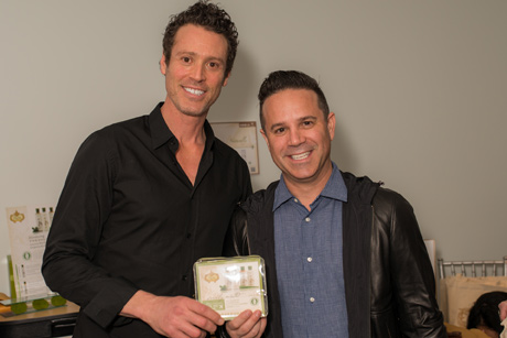 Craig Borten, Co-writer, Dallas Buyers Club with Pura Botanica