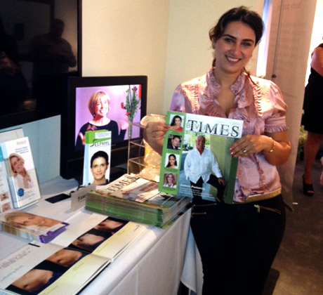 Dr. Kathy Gohar, (not shown) is featured in many publications.