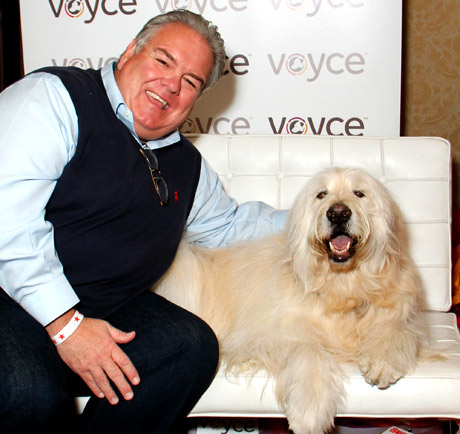 Jim O'Heir (Parks and Recreation) with Voyce.