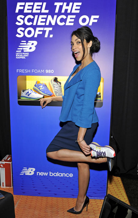Rosario Dawson in New Balance