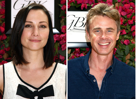 Heather McComb, Sam Trammell