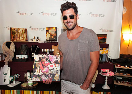 Maksim Chmerkovskiy of Dancing With The Stars with CMcDonald