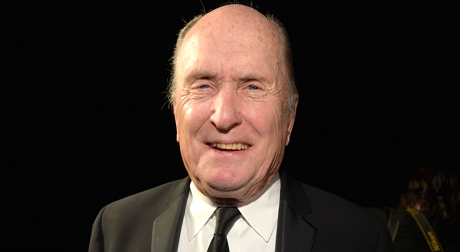Robert Duvall after receiving the Icon award for his performance in The Judge
