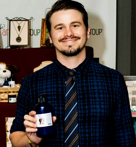 Jason Ritter of Parenthood with The Grapeseed Company
