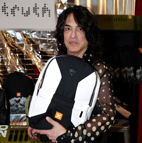 Musician Paul Stanley supporting the Truth vision
