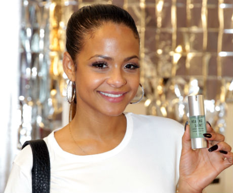 Singer-songwriter Christina Milian Healing Saint